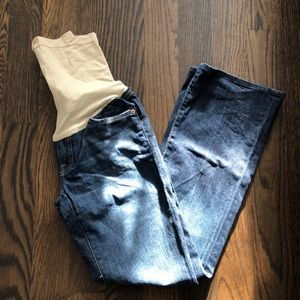 7FAM Seven for All Mankind Maternity Jeans, Sz 29